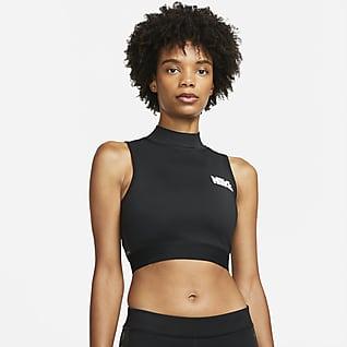 Nike x sacai Μπλούζα crop