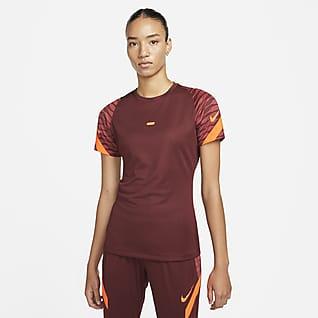 Nike Dri-FIT Strike Haut de football à manches courtes pour Femme