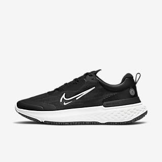 Nike React Miler 2 Shield Hava Şartlarına Dayanıklı Erkek Yol Koşu Ayakkabısı