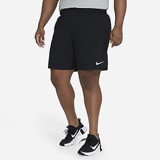 Nike Dri-FIT Dokuma Erkek Antrenman Şortu (Büyük Beden ve Uzun Boy)