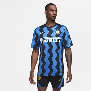 Inter Milan 2020/21 Stadium Home Fodboldtrøje til mænd