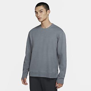 Nike Yoga Herren-Rundhalsshirt