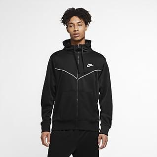 Nike Sportswear Hættetrøje med lynlås til mænd
