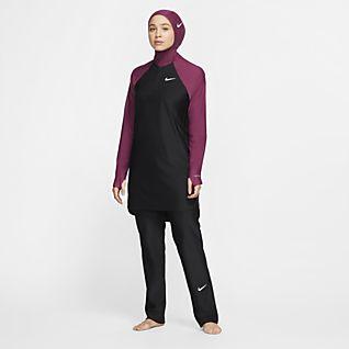 Nike Victory 女款全罩式游泳直筒內搭褲