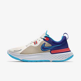 Nike React Miler Shield By You Tilpasset løpesko