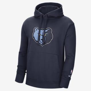 Μέμφις Γκρίζλις Essential Ανδρικό φλις φούτερ με κουκούλα Nike NBA