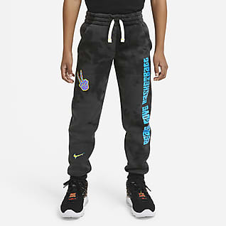 Nike Club Fleece Pantalones de entrenamiento para niños talla grande
