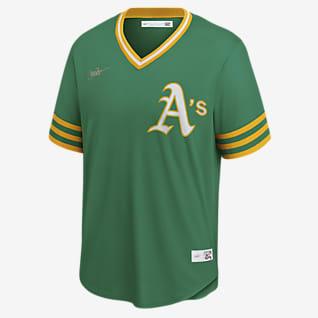 MLB Oakland Athletics (Reggie Jackson) Men's Cooperstown Baseball Jersey