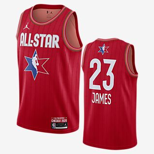 LeBron James All-Star Jordan NBA Swingman Jersey 男子球衣