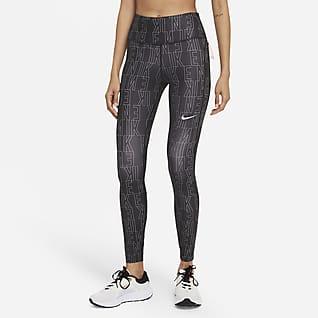 Nike Dri-FIT Run Division Epic Fast Dámské běžecké legíny se středně vysokým pasem