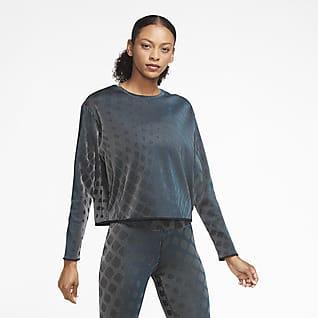Nike Run Division Camiseta de capa media de running - Mujer