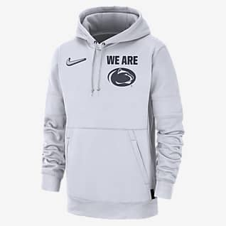 Nike College Therma Local (Penn State) Men's Pullover Hoodie