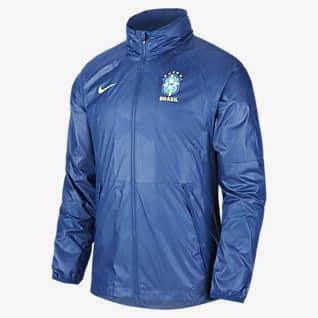 Brazil Men's Football Jacket