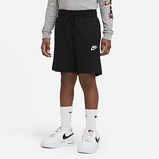Nike Sportswear Spodenki z dżerseju dla dużych dzieci (chłopców)