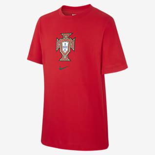Portugal Fußball-T-Shirt für ältere Kinder