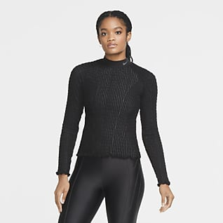 Nike City Ready Women's Seamless Long-Sleeve Top