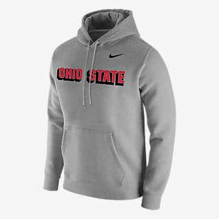Nike College Club Fleece (Ohio State) Men's Hoodie