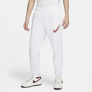 Nike Sportswear Calças desportivas de lã cardada para homem