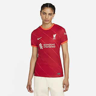 Liverpool FC 2021/22 Stadium (hemmaställ) Fotbollströja för kvinnor
