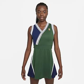 NikeCourt Dri-FIT Slam Robe de tennis pour Femme