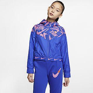 Nike Sportswear Windrunner Veste pour Fille plus âgée