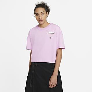 Jordan Essentials Damski T-shirt z nadrukiem