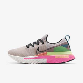 Nike React Infinity Run Flyknit Premium Hardloopschoen voor dames