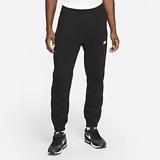 Nike F.C. Calças de futebol de lã cardada para homem