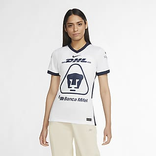 De local Stadium de Pumas UNAM 2020/21 Camiseta de fútbol para mujer