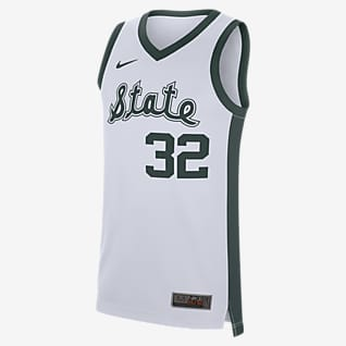 Nike College Replica Retro (Michigan State) Men's Basketball Jersey