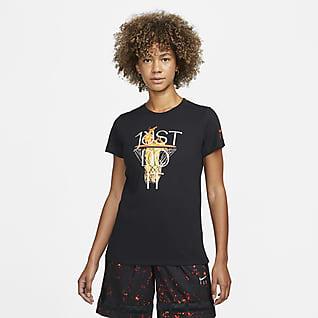 Nike Dri-FIT 'Just Do It' Basketbalshirt voor dames