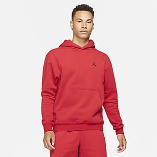 Jordan Essentials Hoodie pullover de lã cardada para homem