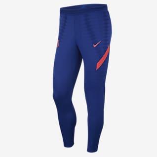 FC Barcelona VaporKnit Strike Pantalones de fútbol para hombre