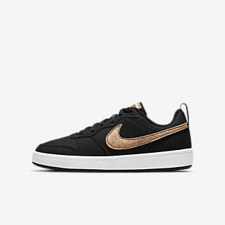 Nike Court Borough Low 2 Canvas Big Kids' Shoe