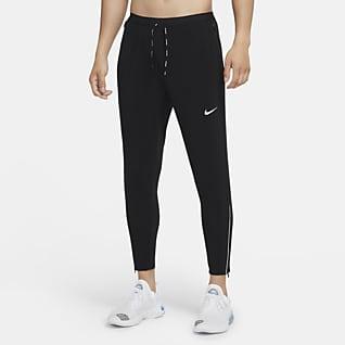 Nike Phenom Elite Pánské tkané běžecké kalhoty
