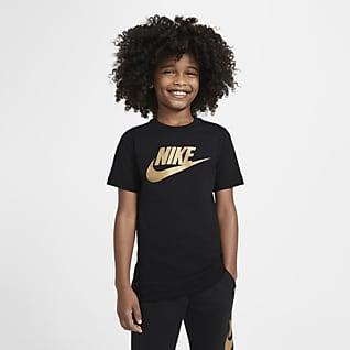 Nike Sportswear T-shirt i bomuld til store børn