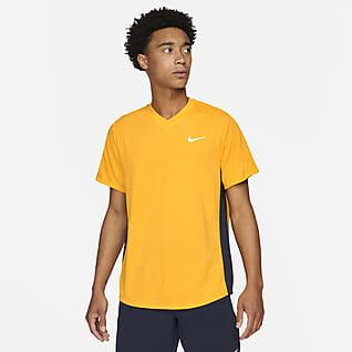 NikeCourt Dri-FIT Victory Camiseta de tenis para hombre