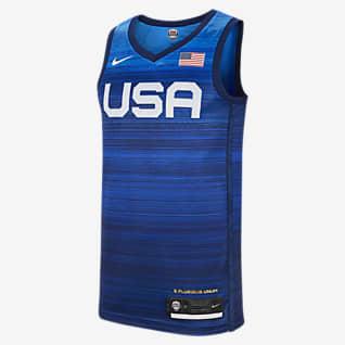 USA (ロード) リミテッド メンズ バスケットボールジャージー
