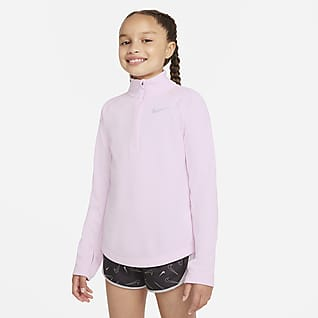 Nike Dri-FIT Camiseta de running de manga larga - Niña