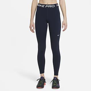 Nike Pro Leggings med mellomhøyt liv til dame