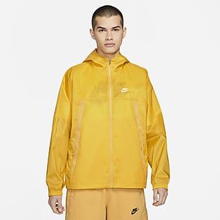 Nike Sportswear Revival Chamarra de tejido Woven ligera para hombre