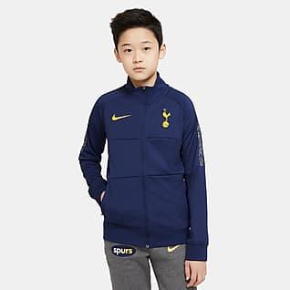 Tottenham Hotspur Fotbalová tepláková bunda pro větší děti