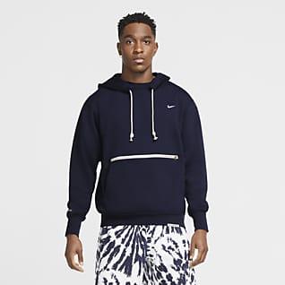 Nike Standard Issue Sudadera con capucha sin cierre de básquetbol para hombre