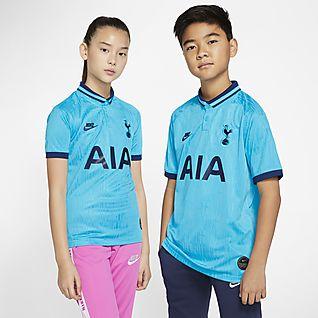 Tottenham Hotspur 2019/20 Stadium Third Big Kids' Soccer Jersey