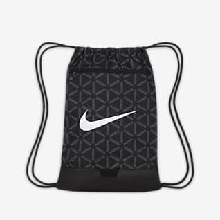 Nike Brasilia ถุงผ้ายิมเทรนนิ่งพิมพ์ลาย