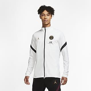 Paris Saint-Germain Strike เสื้อแจ็คเก็ตวอร์มฟุตบอลแบบถักผู้ชาย