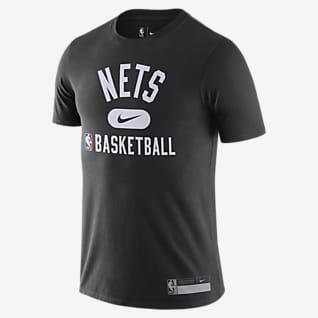Brooklyn Nets Nike Dri-FIT NBA-s férfipóló