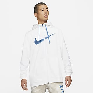 Nike Dri-FIT Sport Clash Men's Full-Zip Printed Training Hoodie