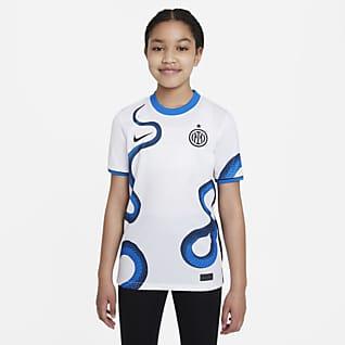 Inter Milan 2021/22 Stadium Uit Nike voetbalshirt met Dri-FIT voor kids