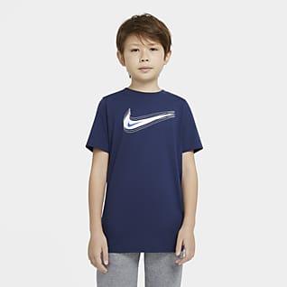 Nike Sportswear T-shirt med Swoosh för ungdom